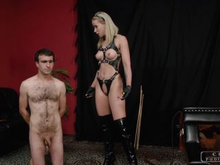 Spanking – CRUEL PUNISHMENTS – SEVERE FEMDOM – Good things in having a slave part1 – Mistress Anette