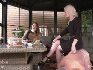 Crush – Miss Adah Vonn – Tea Party at @OublietteFilms with Goddess Gynarchy   crush   cumshot mia li femdom