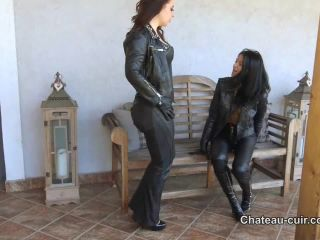 Chateau-Cuir – Hot leather biker girls part 1 - corset on hells