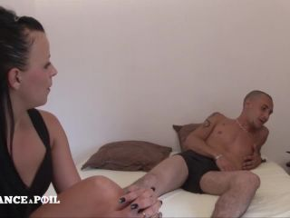 Natacha Guapa - Sexy shaved brunette getting her ass licked and pounde ...
