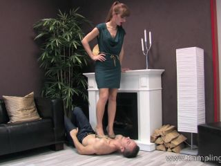 Face trample – Vanessa takes advantage of her trampling slave, gia dimarco femdom on bdsm porn