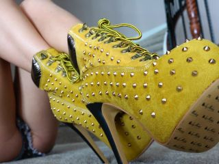 Crystal Knight - Spiked Heels Ignore!!!