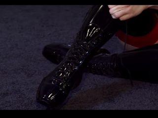 Latex Ballet Heels