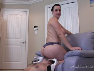 Butt Drops And Breath Play , femdom torture on lesbian