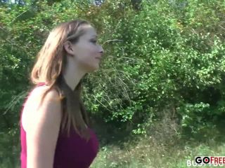 Lucie wilde outdoor pov!