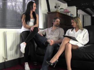 Ballbusting World - Nikki, Chloe - Fertility Treatment - balls - fetish porn femdom pron
