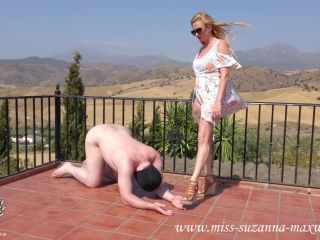 Miss Suzanna Maxwell Slapped And Spat On