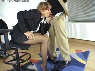 06-03-2005 - Long Legged Secretary Footjob