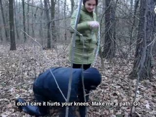 cathy heaven femdom CzechSoles: Megan - Walking The Doggy In The Cold, czechsoles on fetish porn