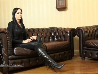 Online Fetish video Leather – SADO LADIES Femdom Clips – Mistress Nemesis