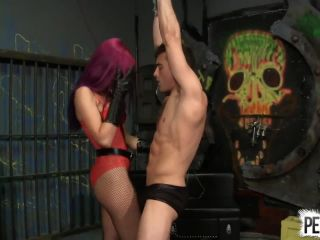 7302 Amadahy Owns Her Strippers Balls And Fuck His Ass