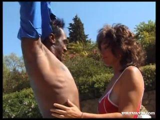 Katrina Sits on Massive Black Interracial Dick for Orgasm and Facial