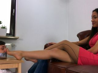 Polish Mistress - Asia punishes her roommate for reading her diary!!!