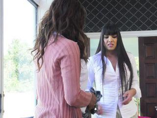 Jessy Dubai, Chanel Santini, Mercedes Carrera - Jessy and Chanel Get Laid by the Maid - TransAngels (HD 2020)