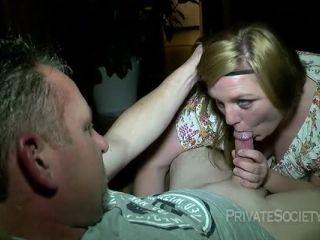 Private Society – She Must Really Want The Job!!!