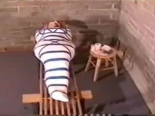 Mummification blonde reto video
