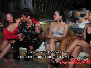 Teresa Ferrer, Vika Borja - Summer Taboo Mommy And Aunt Whores - SexMex (HD 2020)