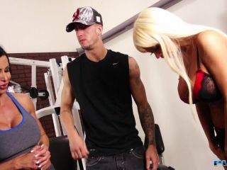 [Jewels Jade] Nikita Von James joins a workout orgy with some hard bodies