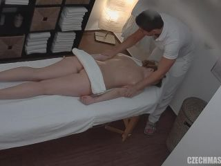 Czech Massage - Blonde fucks the masseuse 3