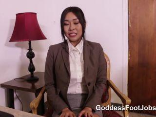 GoddessFootjobs - No Work Visa - Honey Moon!!!