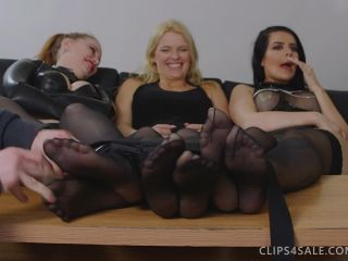 Soles tickling – UKTickling – Emerald, Cherry and Sophia Triple Foot Tickle Madness!   tickle feet   feet porn