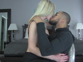 Princess Lyne - Cuckold Husband - Teased by BBC Makeout Session!!!