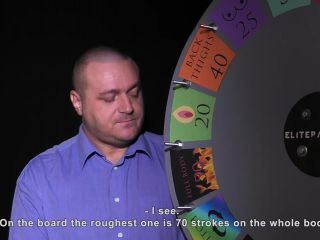 Elite Pain - Wheel of Pain 29 - Strictly Spanking, BDSM, Pain Video