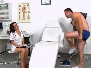 Online Tube SpermHospital - handjob and footjob