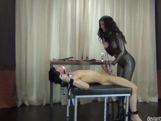 Online porn DeviantFetishGirls - Castration Tease after Handjob - Hot Femdom