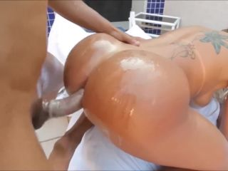 Exotic brazilian beauty anal madness