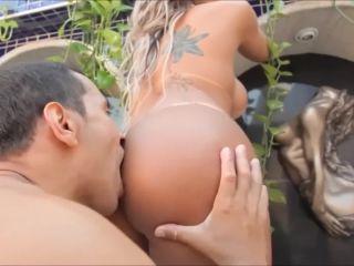 Exotic brazilian beauty anal madness