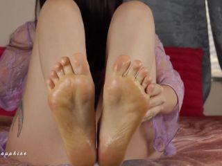 cbt fetish Cum to feet – Luna Sapphire – Foot Jerk Off Game, joi foot games on fetish porn