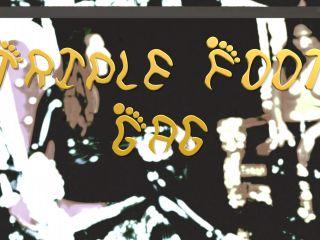 Domina Planet - Triple Foot Gag (HD 4K MP4)