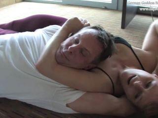 German Goddess Femdom Fighting — Goddess Jolina — Wrestled Into Submission on femdom porn gay fart fetish