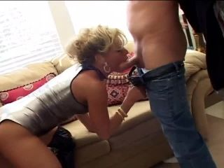 Dirty Blonde Gets Double Penetrated