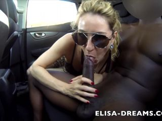 Elisa Exhib - Sex Challenge - Awesome Hotwife gets Huge black cock outdoor  | elisa-dreams | hardcore porn hentai school girl xxx