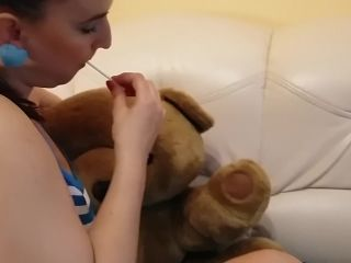 PIGTAIL TEEN SCHOOLGIRL GETS ROUGH THROATFUCK AND FACIAL