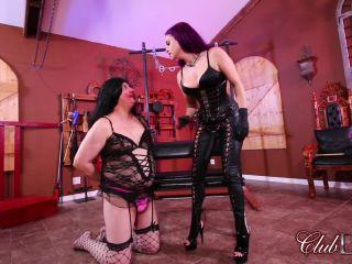 Clubdom - Goddess Valora Fucks Her Sissy slave!!!