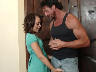 Petite Holly Hendrix Finds The Holly Hendrix, Tommy Gunn -