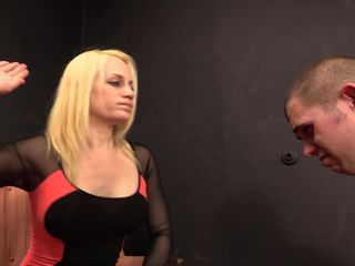 Awesome whipping and face slapping by Jade.