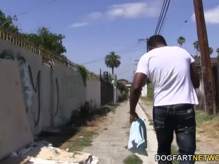Asphyxia noir gets gangbanged and assfucked by black guys*