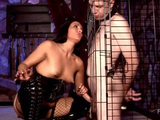 Caged, Teased, and Milked