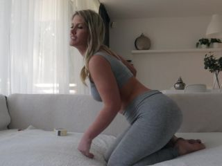Helena Lana - New Monster Buttplug In Her Asshole - helena lana - toys