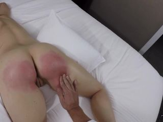 Assume the Position Studios - NUDE OILED Massage on a Well Beaten Bottom - Chrissy Mare Aftercare!!!