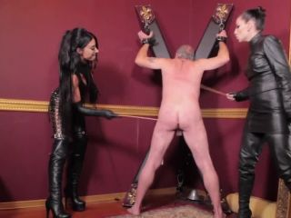 Cybill Troy - Cybill Troy, Mistress Tangent - Double Domina Cane Assault (!!!