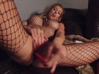 Holly Hotwife - Black Net and Fur