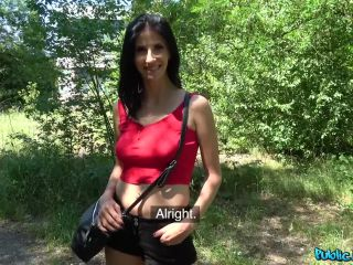 Public - Agent creampies busty lady for cash