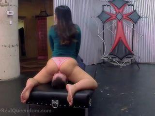 TheRealQueendom — Astro Domina — Smother Training With Astro Domina | asslicking | fetish porn ebony feet fetish