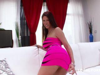 Tiffany Mynx dildo anal fuck and anal pump