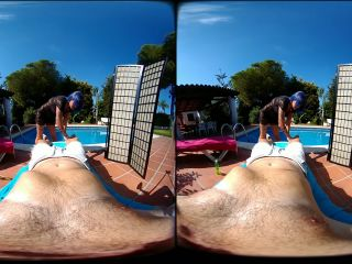 sex at the pool